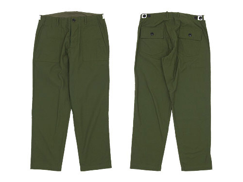 maillot military cloth easy baker pants