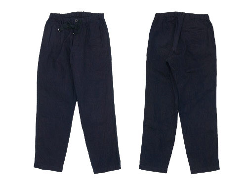 maillot solid denim easy pants