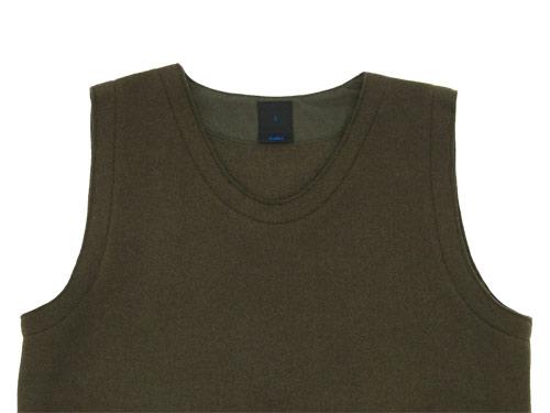 maillot melton U neck vest