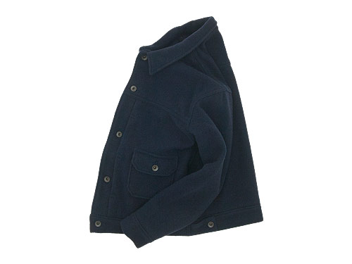 maillot mature wool G jacket / taper easy trouser