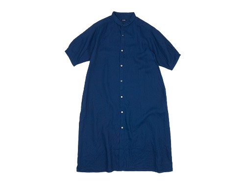 maillot mature indigo linen one-piece