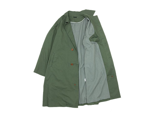 maillot mature cotton over coat(コットンオーバーコート)