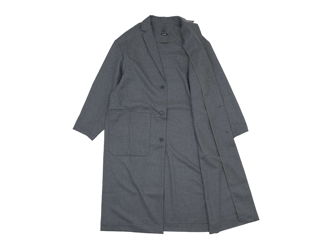 maillot mature wool labo coat