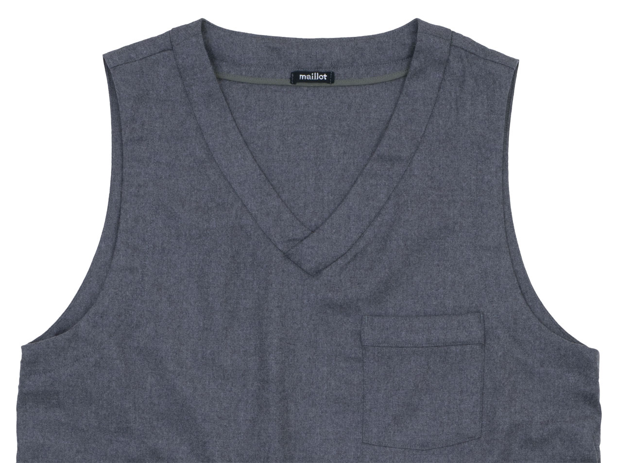 maillot mature wool labo vest