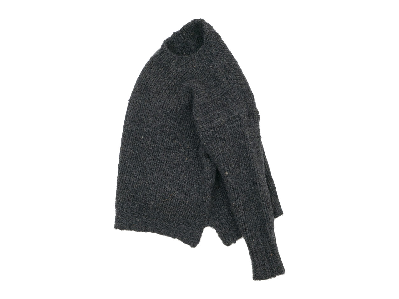 maillot mature hand frame fisherman sweater