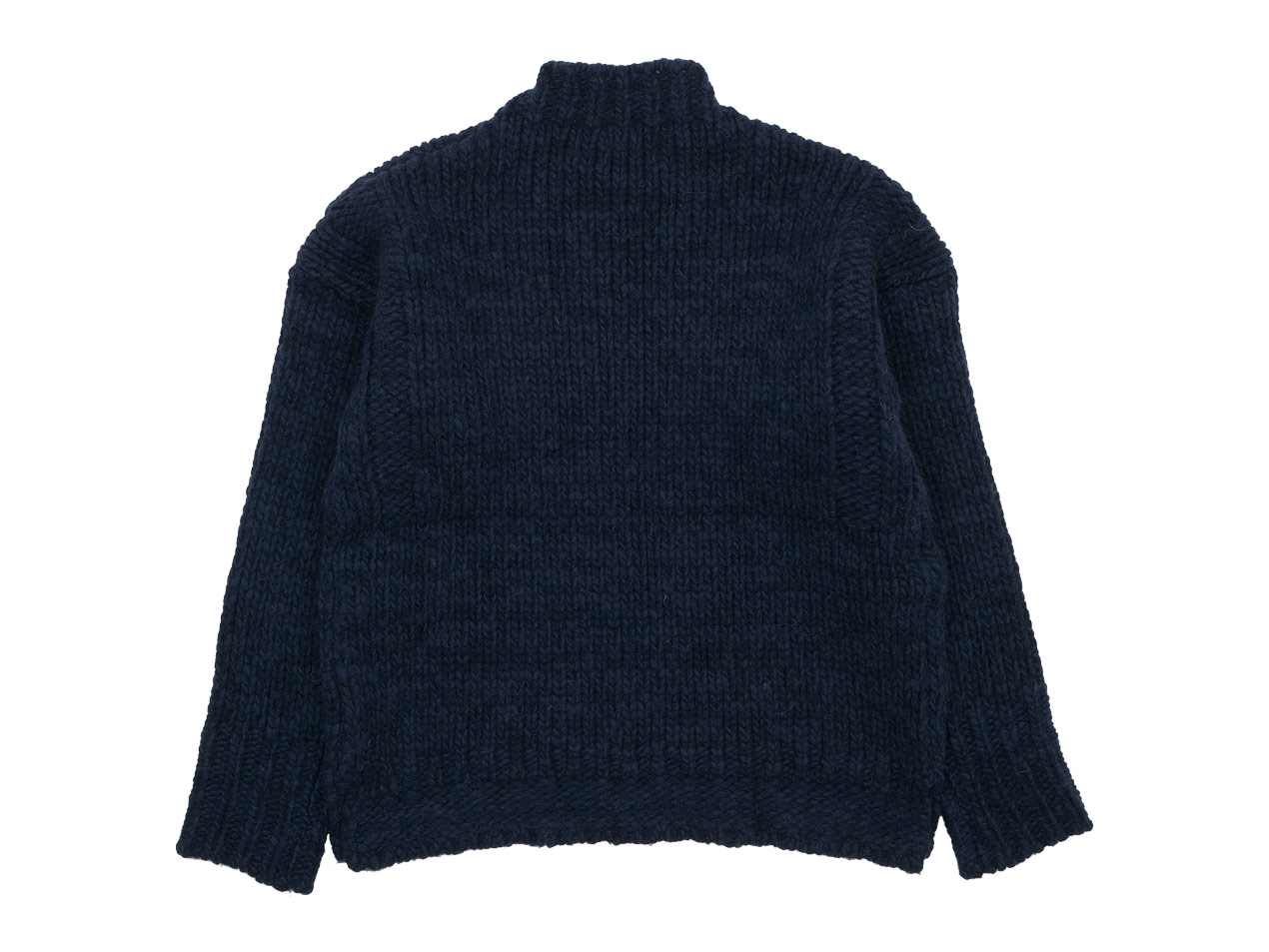maillot mature hand frame fisherman sweater