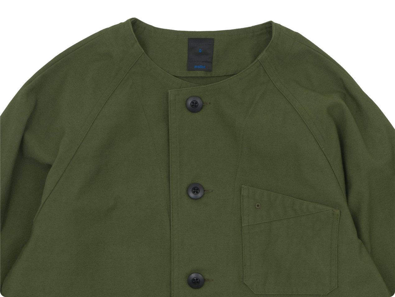 maillot military n/c utility jacket