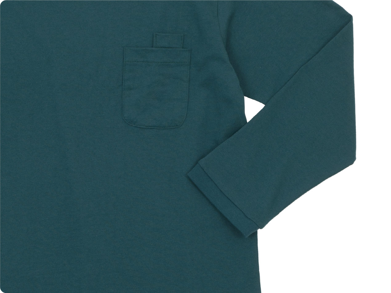 maillot US cotton double pocket long-Tee