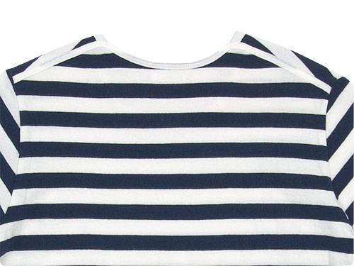 maillot ボーダー半袖Tシャツ