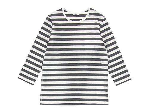 maillot ボーダー7分袖Tシャツ / 長袖Tシャツ