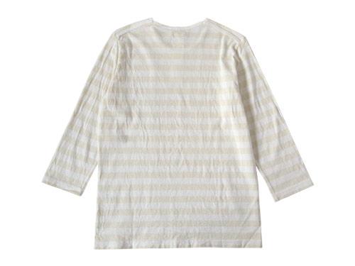 maillot ボーダー7分Tシャツ
