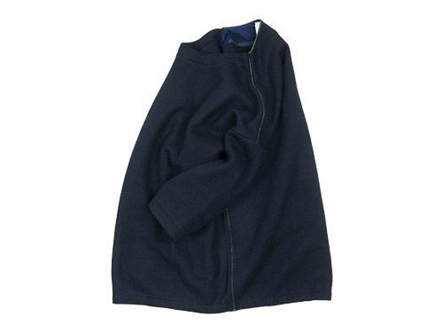 maillot wool melton 3/4 sleeve trainer
