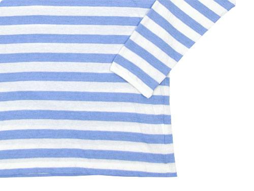 maillot ライトボーダー長袖Tシャツ