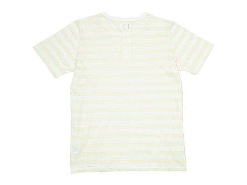 maillot ライトボーダー半袖Tシャツ