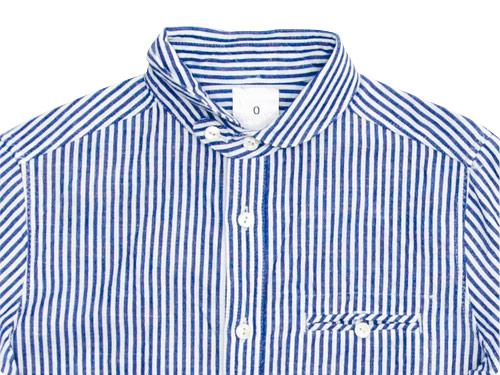 maillot sunset stripe round work shirts