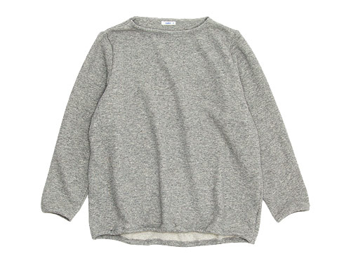 maillot wool sweat trainer / winter linen stand long shirts / linen wool pull vest