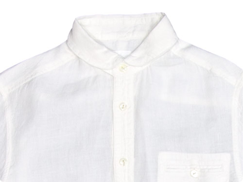 maillot sunset linen round work shirts