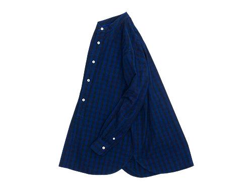 maillot indigo check stand long shirts