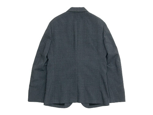 MARGARET HOWELL LIGHT WOOL HOPSACK JACKET