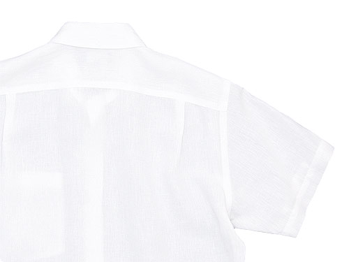 MARGARET HOWELL SHIRTING LINEN S/S SHIRTS
