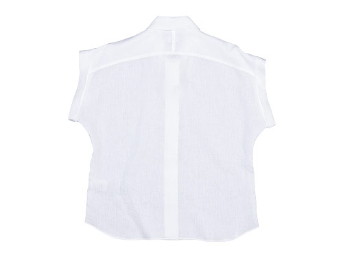 MARGARET HOWELL SHIRTING LINEN II CUFFED COLLARED SHIRTS