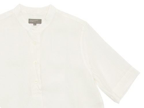 MARGARET HOWELL SOFT LINEN P/O SHIRTS