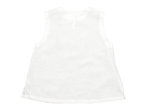 MARGARET HOWELL SOFT LINEN NO SLEEVE SHIRTS