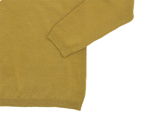 MARGARET HOWELL MERINO WIDE CREW NECK KNIT