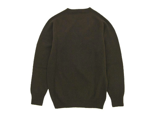 MARGARET HOWELL CASHMERE SADDLE CREW KNIT