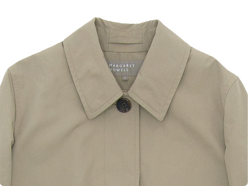 MARGARET HOWELL PROOFED COTTON COATING COAT