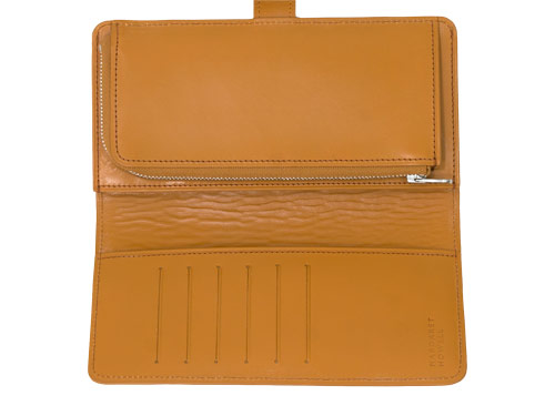 MARGARET HOWELL BRIDLE LEATHER LONG WALLET