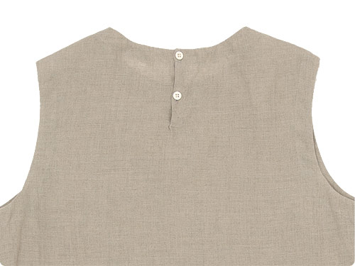 MARGARET HOWELL SOFT LINEN NO SLEEVE