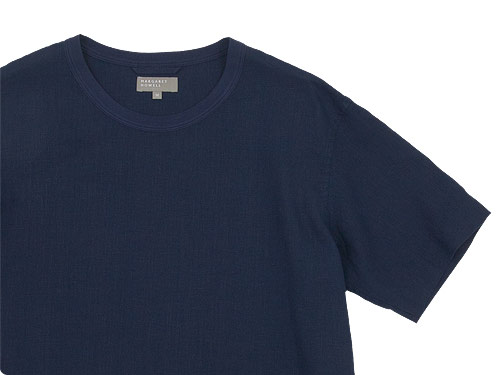 MARGARET HOWELL SHIRTING LINEN T-SHIRTS