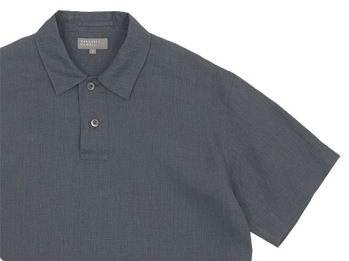 MARGARET HOWELL SHIRTING LINEN POLO SHIRTS