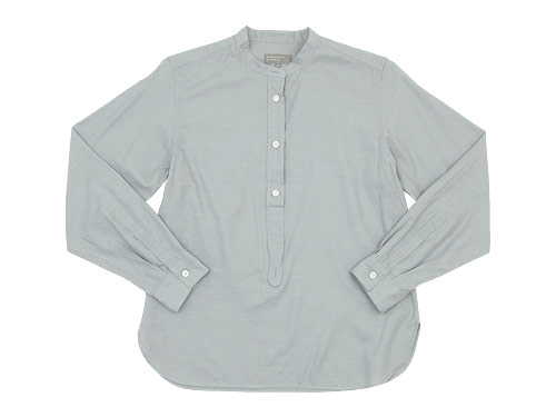 MARGARET HOWELL SOFT COTTON TWILL P/O SHIRTS 〔レディース〕