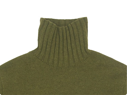 MARGARET HOWELL WOOL CASHMERE HIGH NECK KNIT