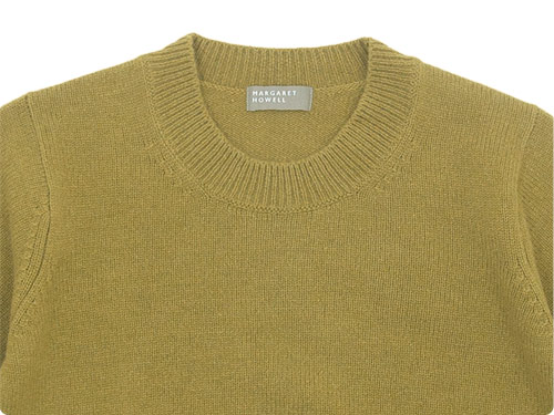 MARGARET HOWELL WOOL CASHMERE JUMPER KNIT