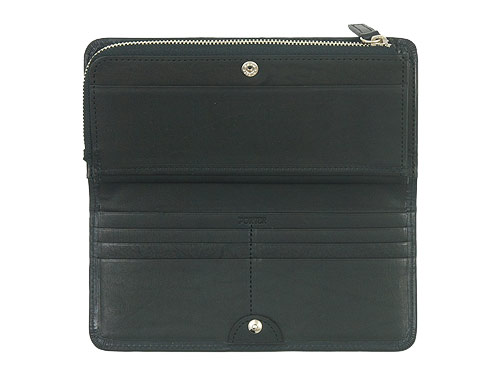 MARGARET HOWELL x PORTER OIL LEATHER LONG WALLET