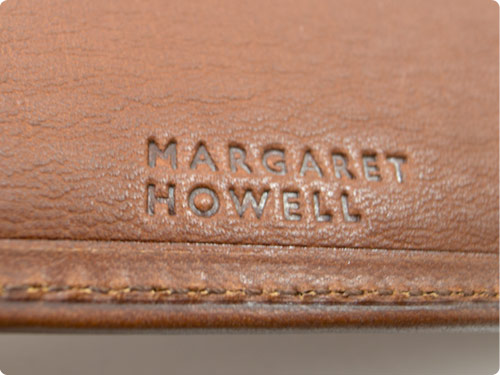 MARGARET HOWELL x PORTER OIL LEATHER FOLDED WALLET