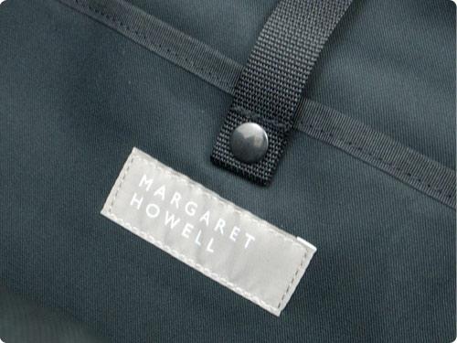 MARGARET HOWELL x PORTER PVC LIGHT COTTON CANVAS BACKPACK