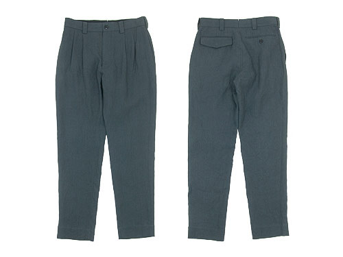 MARGARET HOWELL LINEN PLAIN WEAVE TROUSERS