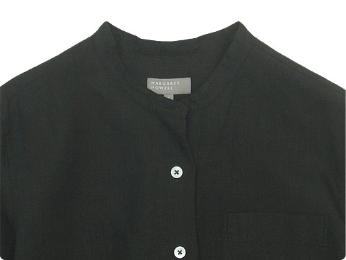 MARGARET HOWELL SHIRTING LINEN I NO COLLAR SHIRTS