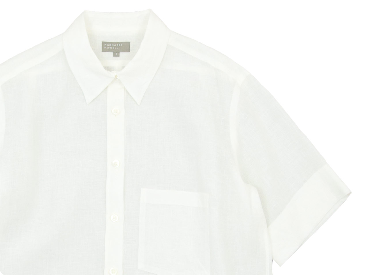 MARGARET HOWELL FINE LINEN S/S SHIRTS