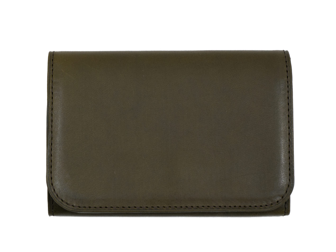 MARGARET HOWELL x PORTER OIL LEATHER CARD CASE / FOLDED WALLET