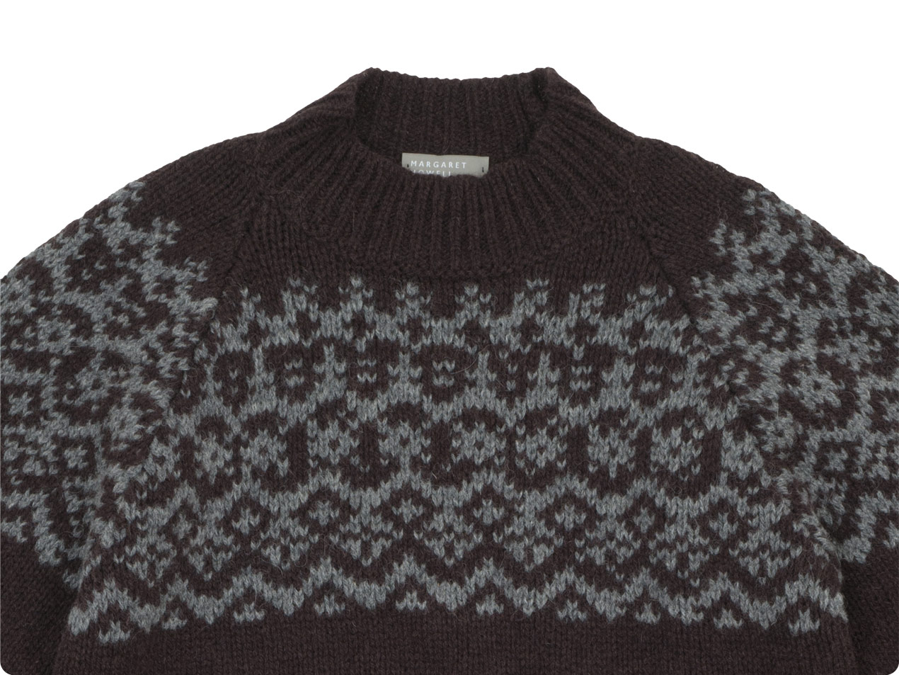 MARGARET HOWELL SHETLAND WOOL KNIT
