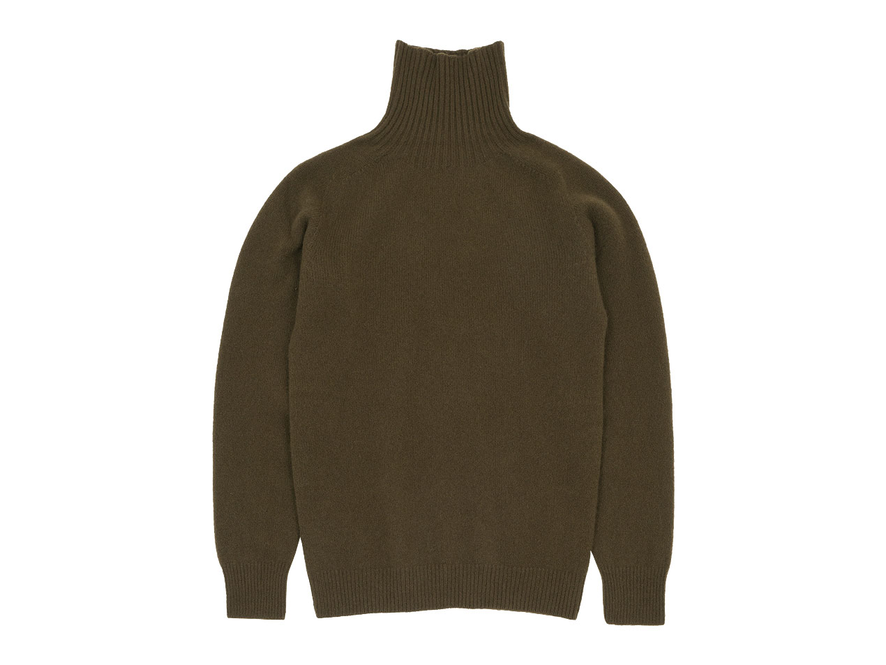 MARGARET HOWELL MERINO CASHMERE ROLL NECK KNIT 〔メンズ〕