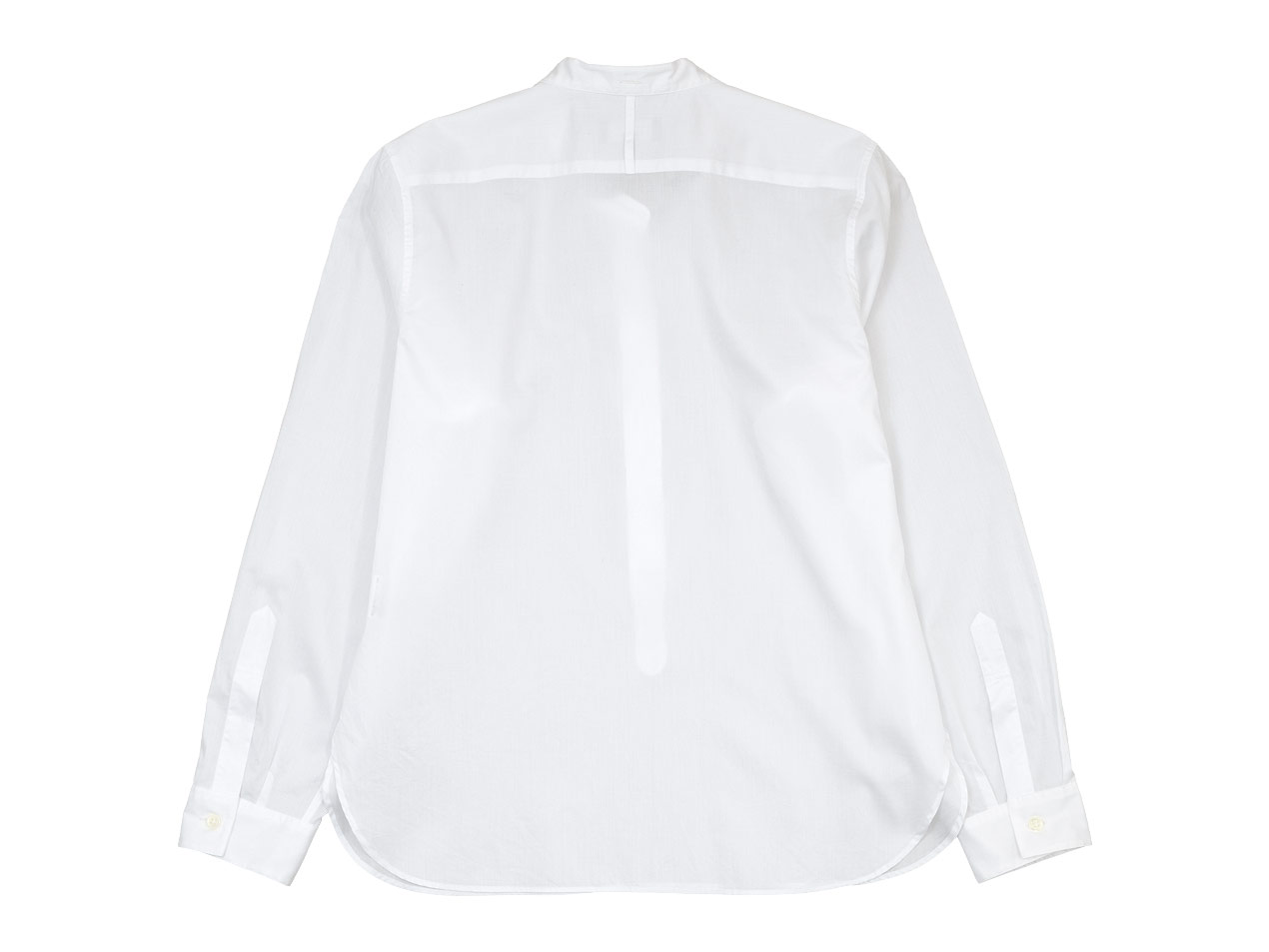 MARGARET HOWELL CHINTZ COTTON PULL ON COLLARLESS SHIRTS