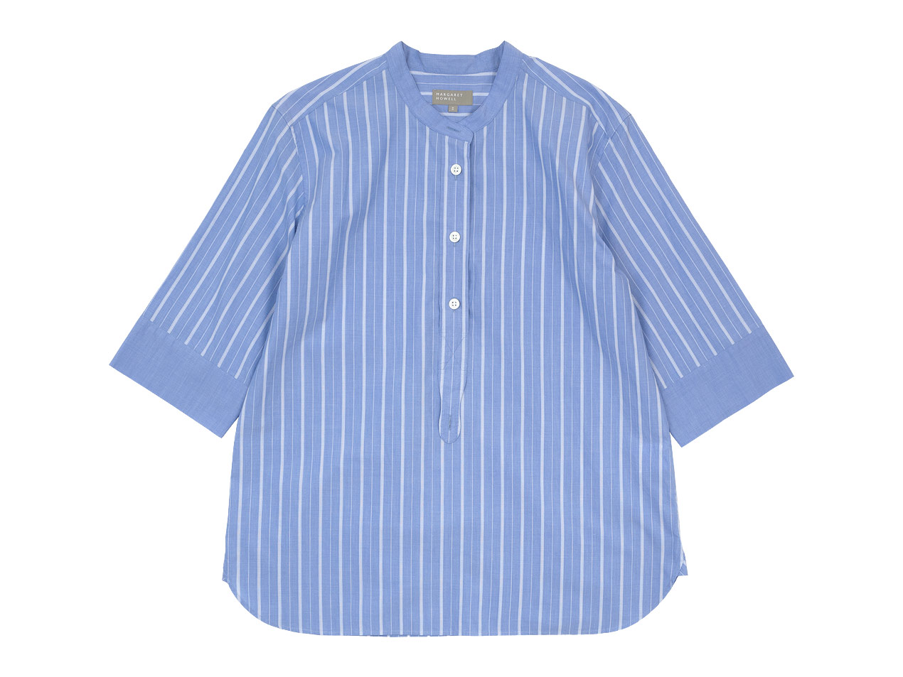 MARGARET HOWELL WIDE PJ STRIPE COTTON P/O SHIRTS 〔レディース〕 / BOLD CHECK LINEN SHIRTS 〔メンズ〕