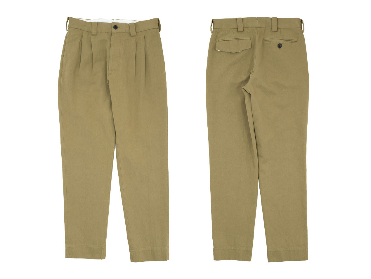 MARGARET HOWELL HEAVY COTTON DRILL TROUSERS 〔メンズ〕
