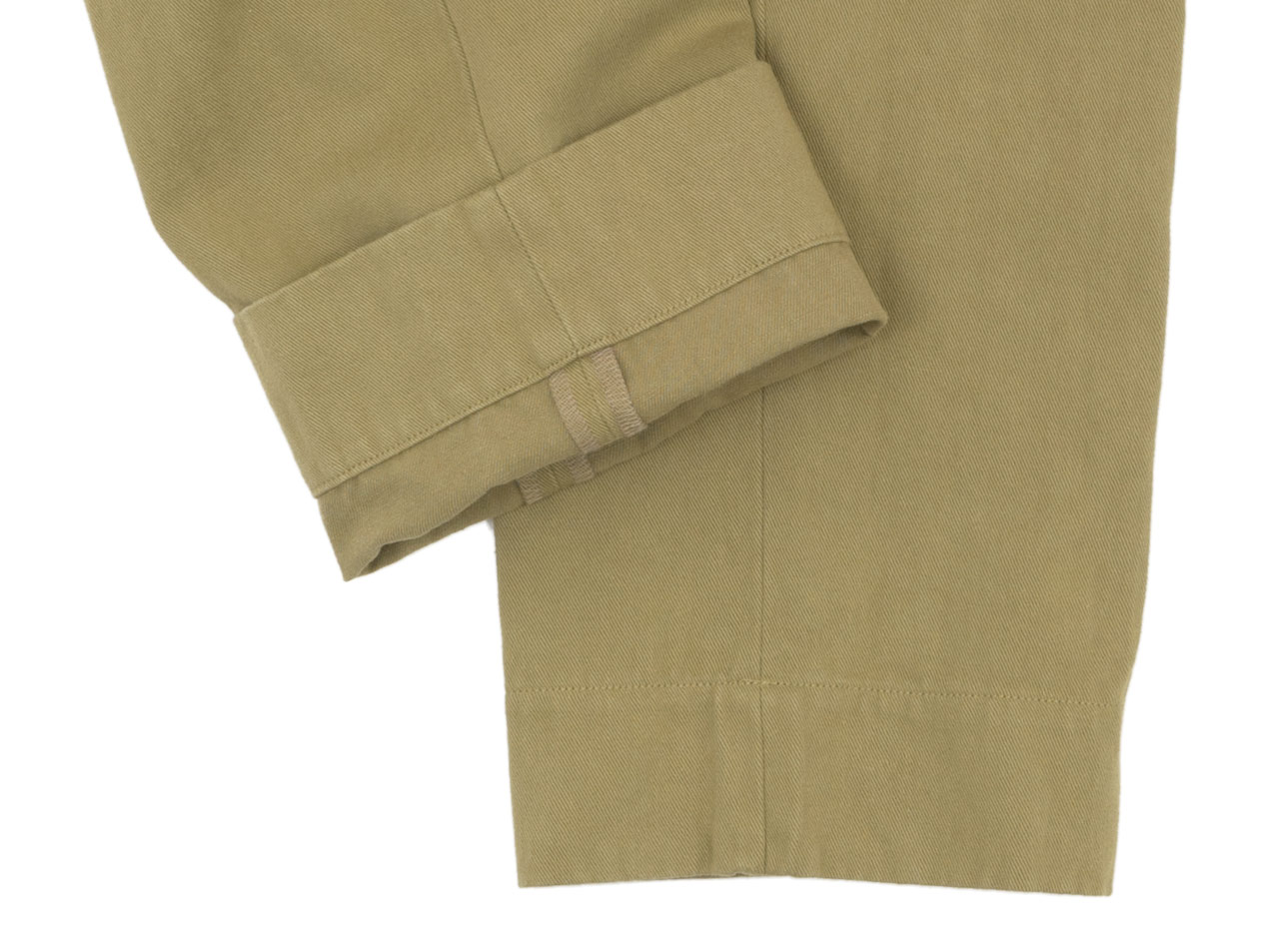 MARGARET HOWELL HEAVY COTTON DRILL TROUSERS